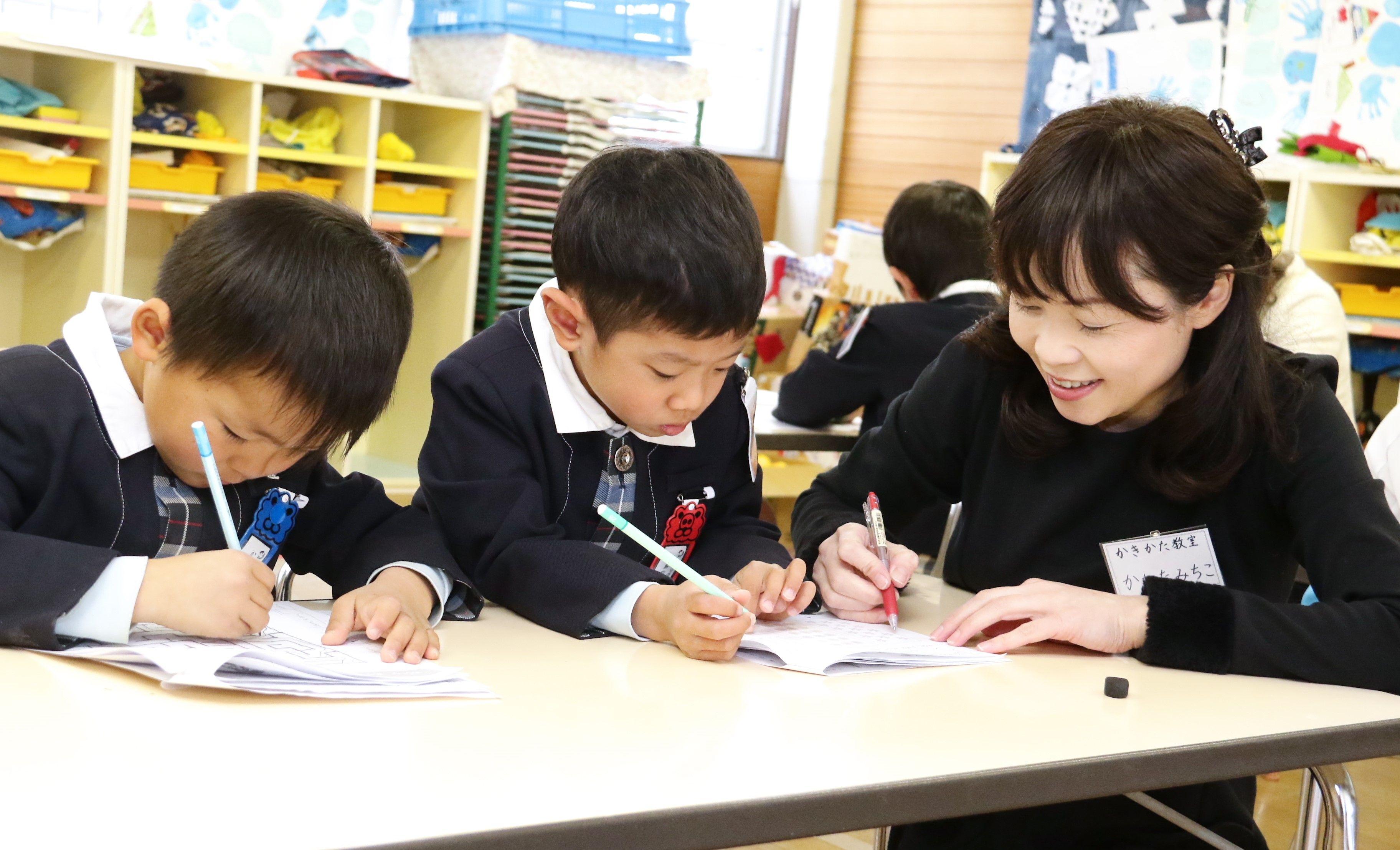 私を変えた子ども達の笑顔!平成の寺子屋~子ども達のための かきかた教室~