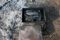 初めて竹炭を焼く