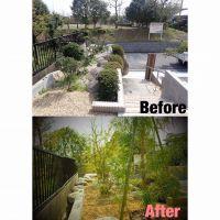 四日市にて庭木移植と植栽作業ご依頼