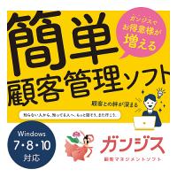 顧客管理ソフト ガンジス Ver 9.0
